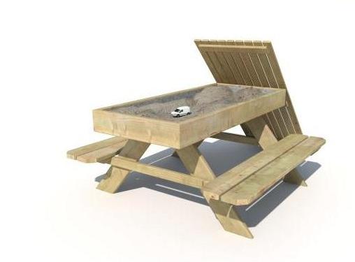 Kinder Picknick Tafel : Holgard kinderpicknick tafel met zandbak dorpsfeest tilligte